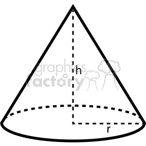 math worksheet : geometry cone school math worksheet clip art graphics images  : Math Factory Worksheets
