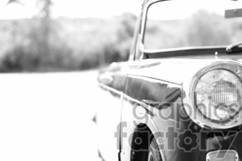 black and white triumph photo right side