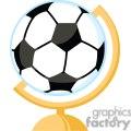 soccer ball globe gif, png, jpg, eps, svg, pdf