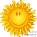 12890 rf clipart illustration smiling sun  gif, png, jpg, eps, svg, pdf