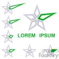 logo template star 005  gif, png, jpg, eps, svg, pdf