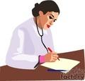 people working doctors doctor hospital medical   1004occupations063 clip art people  gif, jpg