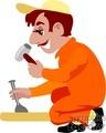 people working occupational carpenter carpenters handyman   occupational005yy clip art people occupations  gif, jpg