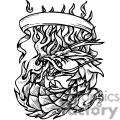 dragon dragons eps jpg png gif vector clipart images vinyl-ready vinyl ready cutter banner scroll scrolls black white gif, png, jpg, eps