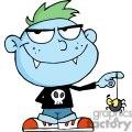 cartoon vampire kid