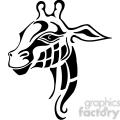 giraffe logo design  gif, png, jpg, eps, svg, pdf