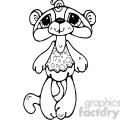 bear monkey cat doll  gif, png, jpg, eps, svg, pdf