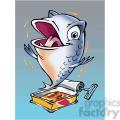 cartoon sardine  gif, png, jpg, eps, svg, pdf