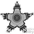 nautical star tattoo design vector illustration  gif, png, jpg, eps, svg, pdf