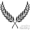 branch wreath design vector art v1