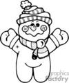 snowman010_bw