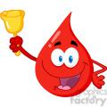 blood-drop-holding-bell  gif, png, jpg, eps, svg, pdf