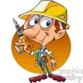 cartoon construction worker  gif, png, jpg, eps, svg, pdf