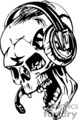 zombie pilot skull