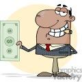 3192-african-american-businessman-shows-big-dollar  gif, png, jpg, eps, svg, pdf
