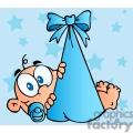 cartoon baby boy