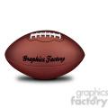 vector football