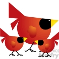 red cardinal 03 family  gif, png, jpg, eps, svg, pdf