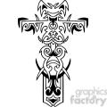 cross clip art tattoo illustrations 037  gif, png, jpg, eps, svg, pdf