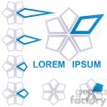 logo template star 008  gif, png, jpg, eps, svg, pdf