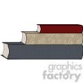 book stack2  gif, png, jpg, eps, svg, pdf