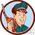 gas pump attendant winking circ  gif, png, jpg, eps, svg, pdf