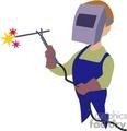 a welder working  gif, jpg