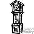 black white grandfather clock gif, png, jpg, eps, svg, pdf
