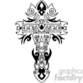 cross clip art tattoo illustrations 032  gif, png, jpg, eps, svg, pdf