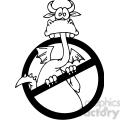 funny cartoon dragons 048  gif, png, jpg, eps, svg, pdf