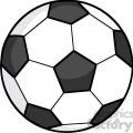 royalty free rf clipart illustration soccer ball  gif, png, jpg, eps, svg, pdf