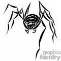 black spider gif, png, jpg, eps