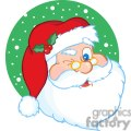 3852-Santa-Claus-Winking