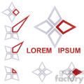 logo template star 004  gif, png, jpg, eps, svg, pdf