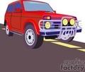 truck trucks autos vehicles 4x4   transportb013 clip art transportation land  gif, jpg