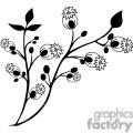 85-flowers-bw  gif, png, jpg, eps, svg, pdf