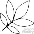 Shagbar Hickory Leaf