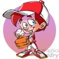 young baseball player cartoon  gif, png, jpg, eps, svg, pdf