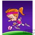 female soccer player  gif, png, jpg, eps, svg, pdf