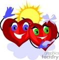 valentines valentine day love romantic heart hearts sunshine   valentin013 clip art holidays valentines day  gif, jpg